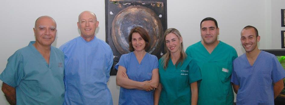 staff medico della clinica Laser Chirurgia Ambulatoriale, Sassari