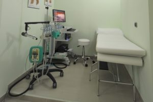sala visite del centro Laser Chirurgia di Sassari