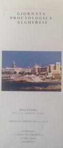 Giornata Proctologica Algherese, anno 2003