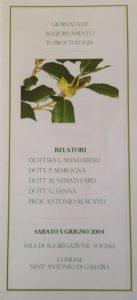 Giornata di aggiornamento in Proctologia, anno 2004