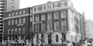 il St Mark's Hospital di Londra, uno tra i centri più importanti nel campo della colon-proctologia